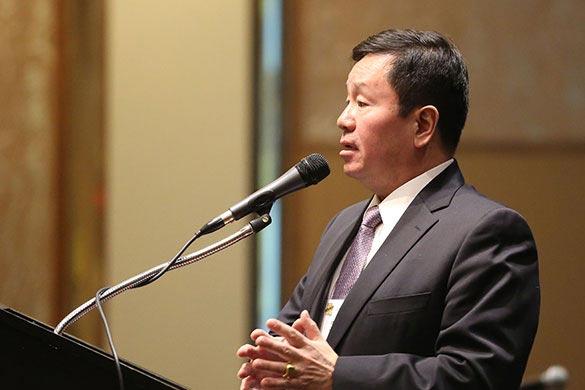President Choi Speaking
