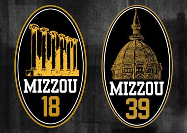 Mizzou 18 and Mizzou 39 awards logos