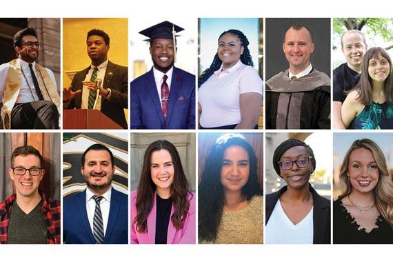 Composite of 2021 graduates