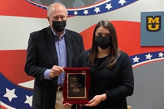 Martha Bradley receives fellowship